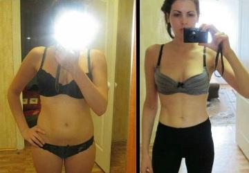 Людмила, 23 года, фото до и после похудения