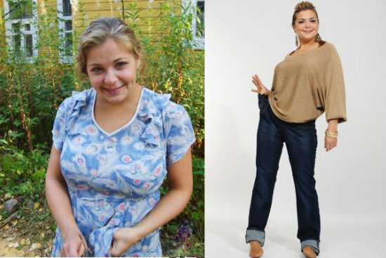 пегова ирина похудела фото до и после