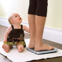 Лишний вес после родов и живот