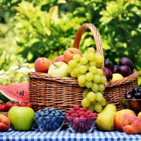 Калорийность ягод и фруктов таблица на 100 грамм