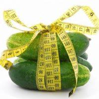 Огуречная диета для похудения на 10 кг за неделю. Меню и таблица