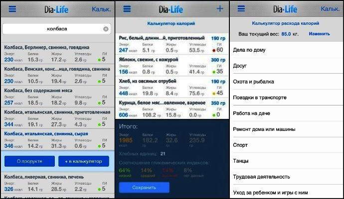 Приложение для подсчета калорий - сравнение и рекомендации