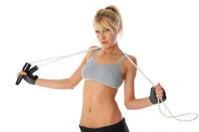 прыжки на скакалке для похудения калории