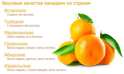 Сколько калорий в мандарине, БЖУ и калорийность мандарина на 100 грамм
