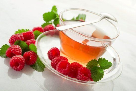 Чай для похудения с малиной