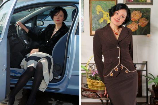 Похудевшаяа Екатерина Мириманова